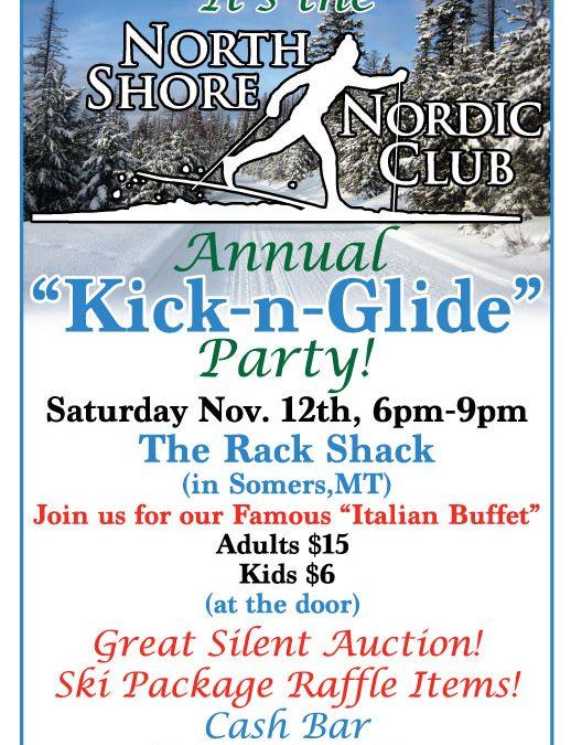 KICK & GLIDE PARTY!